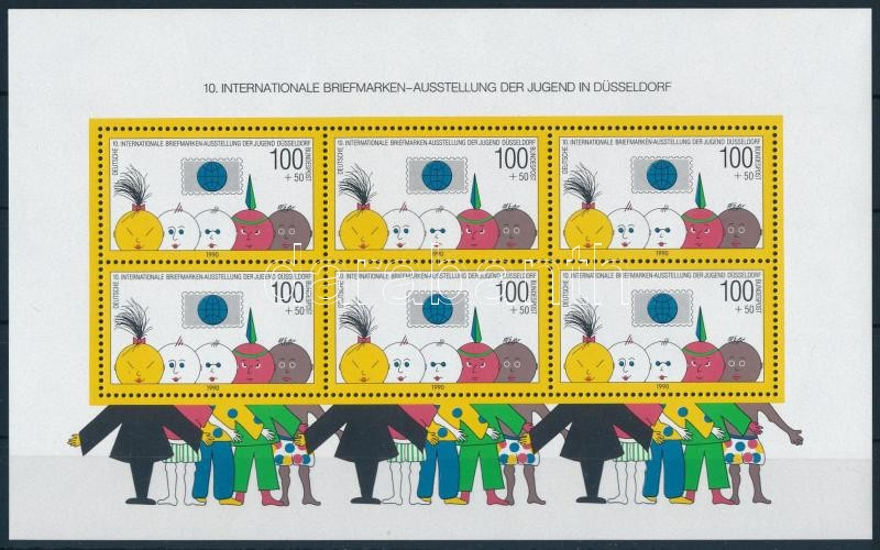 10. International Stamp Exhibition block, 10. Nemzetközi Bélyegkiállítás blokk