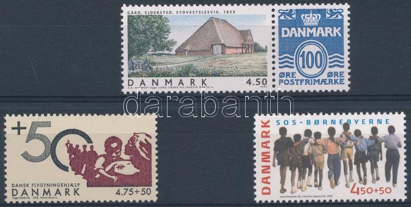 2005-2006 3 stamps, 2005-2006 3 klf önálló érték