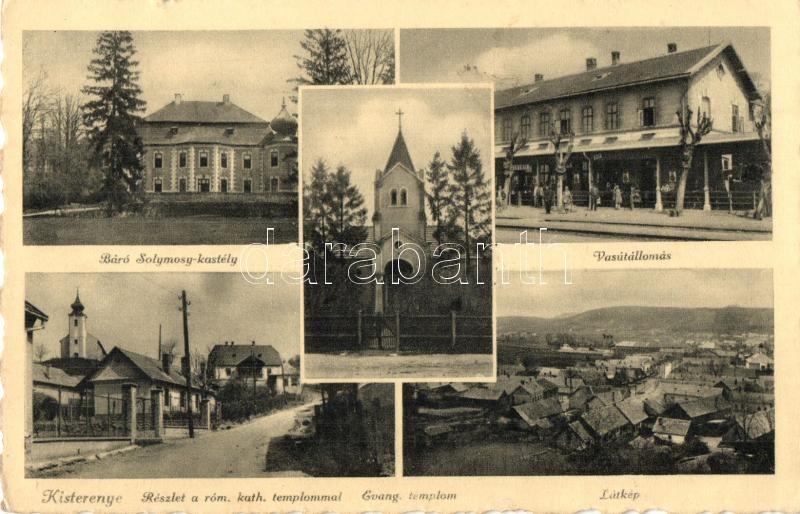 bátorterenye térkép Kisterenye, Bátorterenye; vasútállomás, Evangélikus templom
