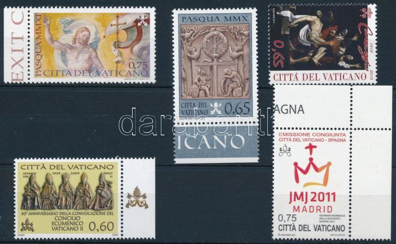 2009-2011 5 stamps, 2009-2011 5 klf önálló érték