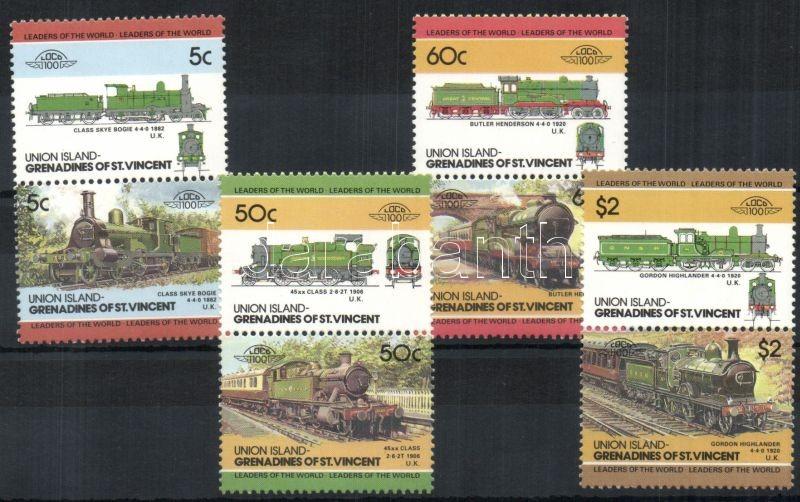 Locomotives III 4 pairs, Mozdonyok III 4 pár, Lokomotiven III 4 Paare