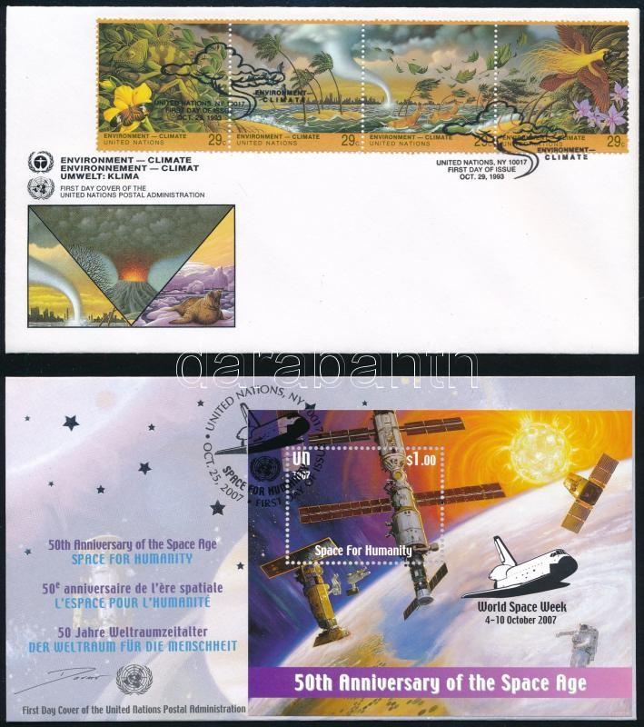 1993-2007 2 FDC, 1993-2007 2 klf FDC