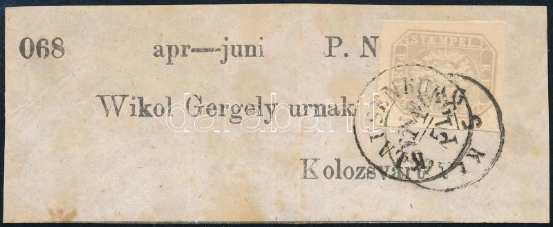 Newspaper stamp ,,KLAUSENBURG