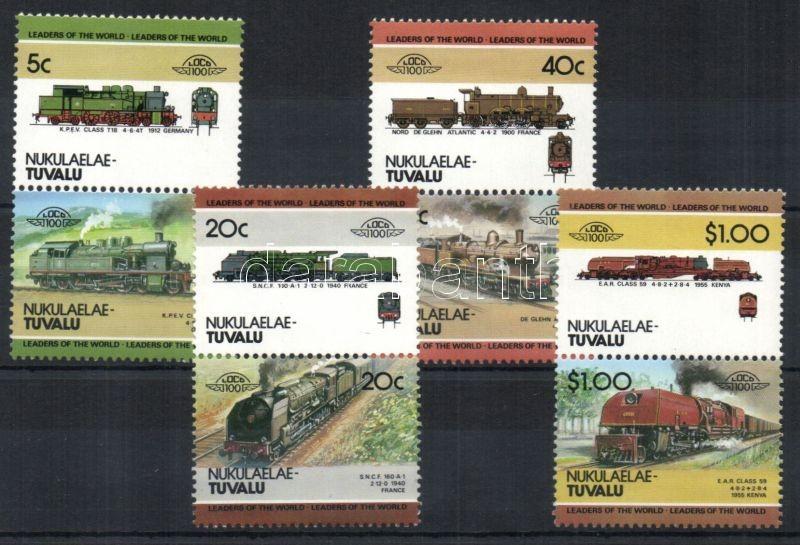 Locomotives II 4 pairs, Mozdonyok II 4 pár, Lokomotiven II 4 Paare