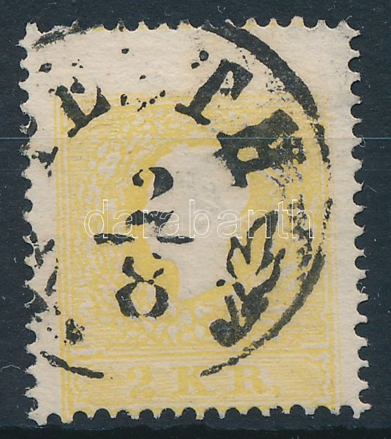 2kr II. yellow ,,PESTH