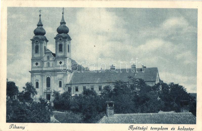 Tihany, Apátsági templom és kolostor. Dr. Vigyázó János felvétele