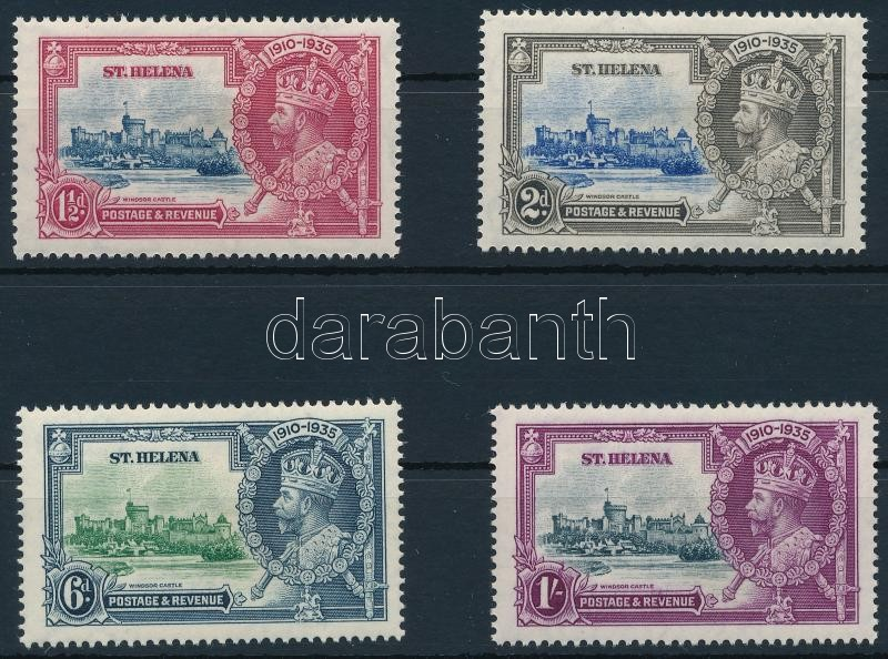 George V's jubilee set, V. György jubileuma sor