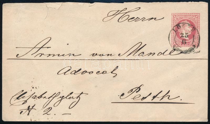 ~ 1867 5kr PS-cover