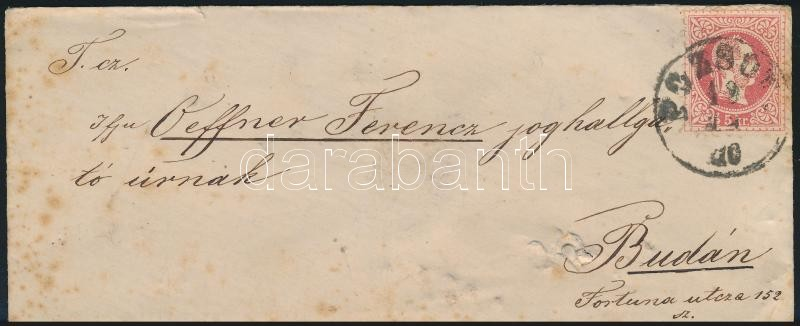 ~1870 5kr on cover
