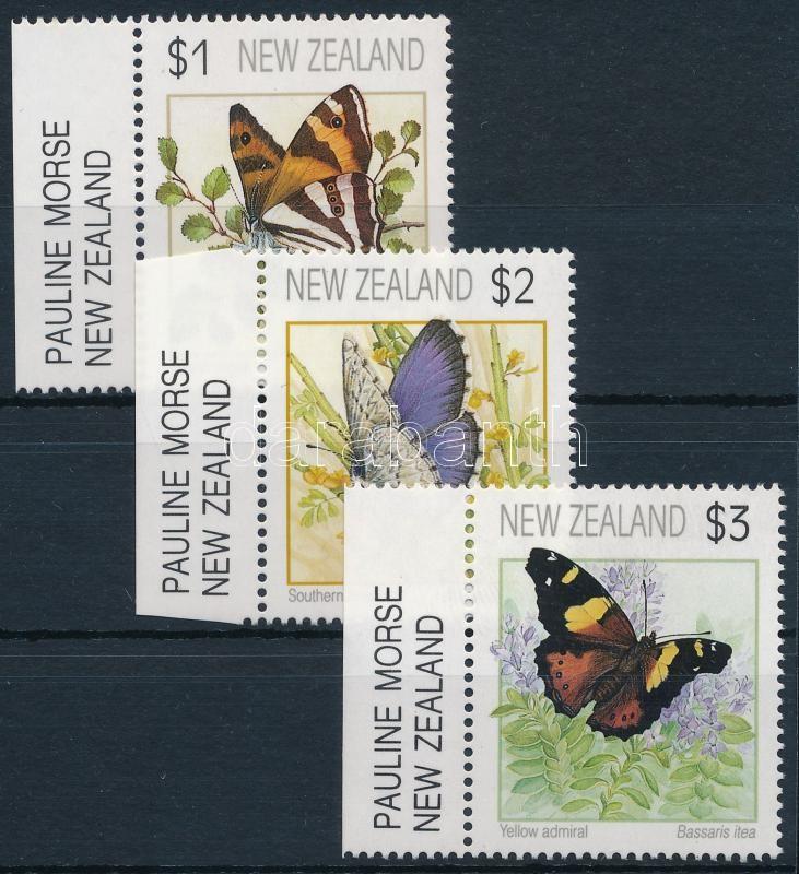 Butterflies margin set, Lepkék ívszéli sor