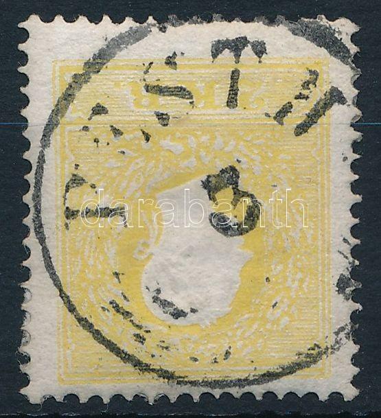 2kr yellow type II ,,PESTH