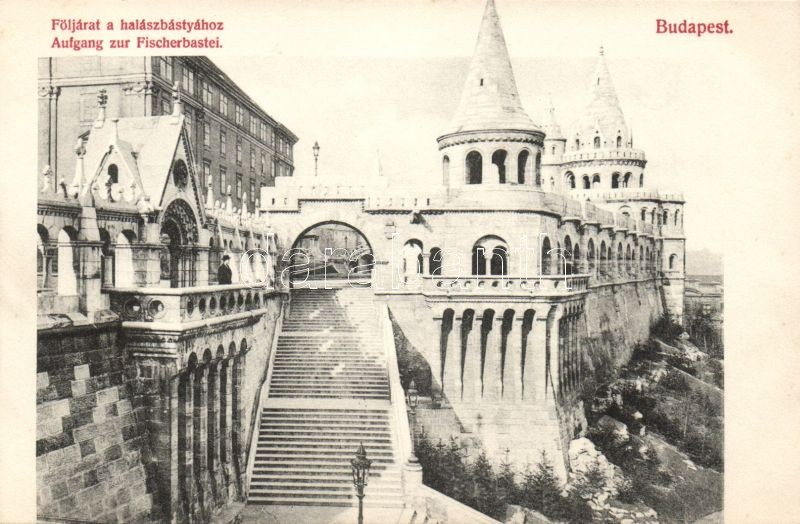 Budapest I. Följárat a halászbástya