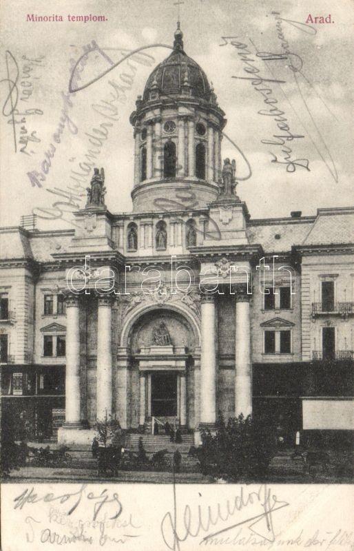 Arad, Minorita templom, Roth Testvérek kiadása, Arad, Conventual Franciscans church