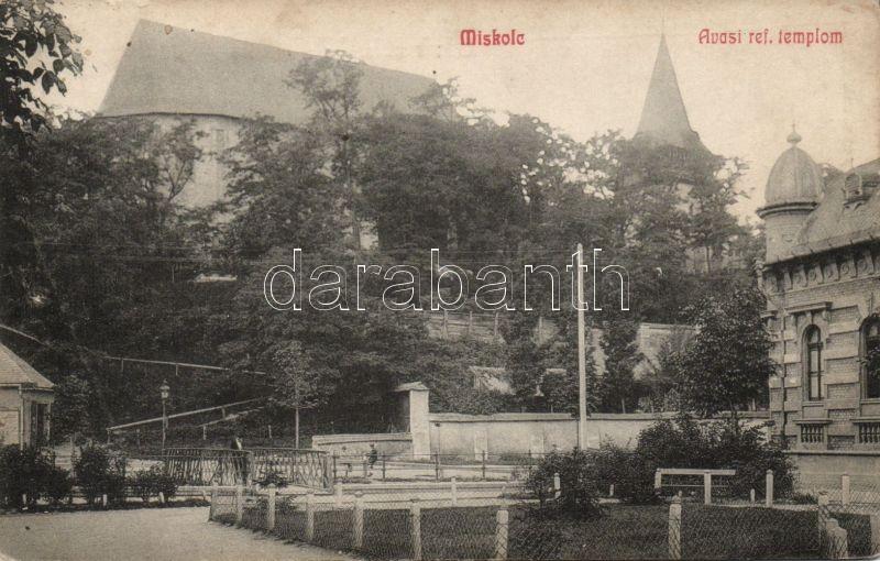 Miskolc, Avas, Református templom, kiadja Fodor Zoltán
