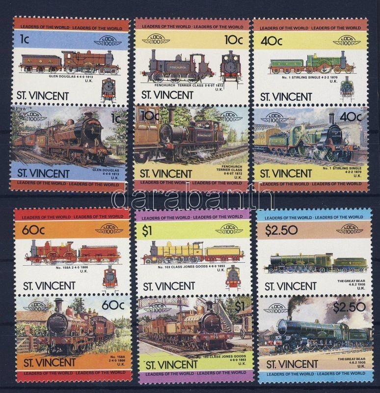 Locomotives IV. 6 pairs, Mozdonyok IV. 6 pár, Lokomotiven IV. 6 Paare