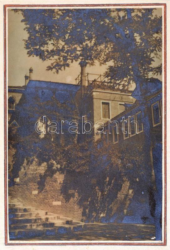 1934 Venezia, Thöresz Dezső (1902-1963) békéscsabai gyógyszerész és fotóművész hagyatékából vintage fotóművészeti alkotás, 16,5x11 cm, karton 33x24 cm