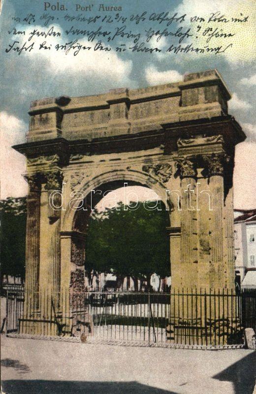 Pola, Port Aurea / gate