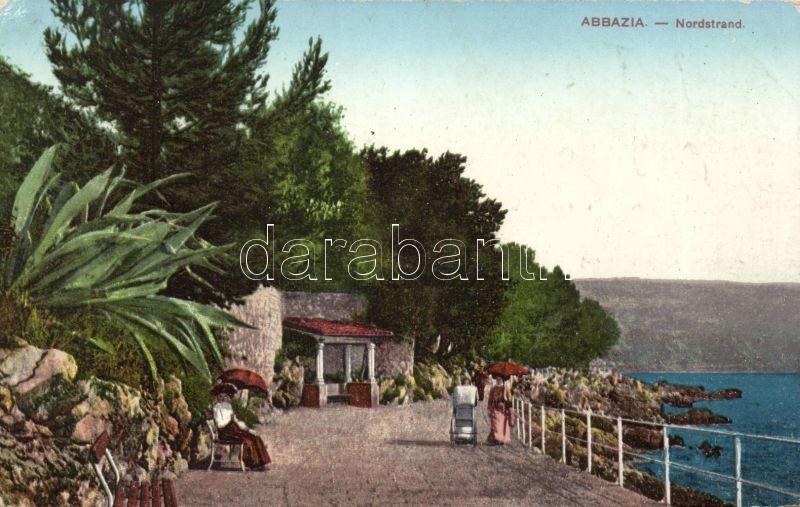 Abbazia, Nordstrand / north beach