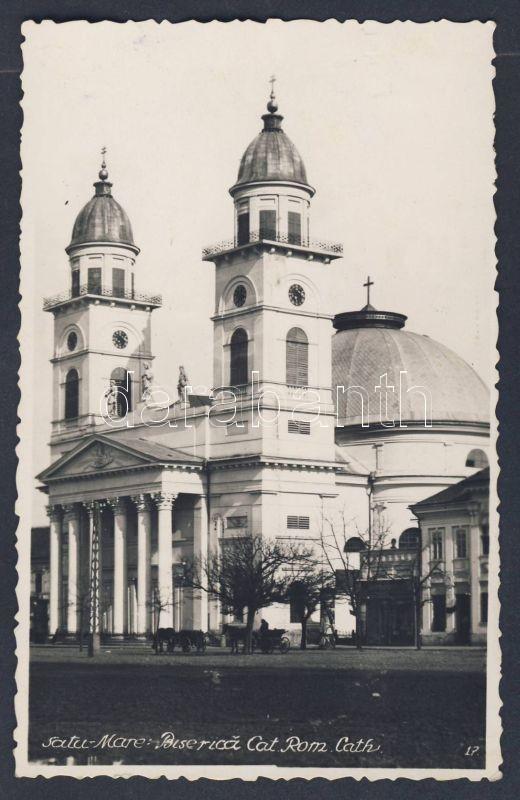 Satu Mare, Biserica Cat. Rom. Cath. / church, Szatmárnémeti, Római katolikus egyház
