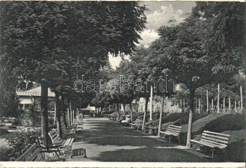 Baile Herculane, park, Herkulesfürdő, park