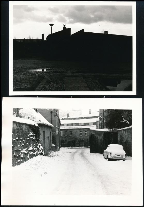 1987 Traumberger Gyula 5 db vintage fotója, az egyiken szerepel a szerző pecsétje, 12,5x17 cm