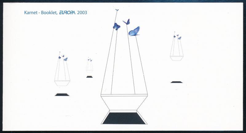 Europa CEPT: Poster Art stamp-booklet, Europa CEPT: Plakátművészet bélyegfüzet