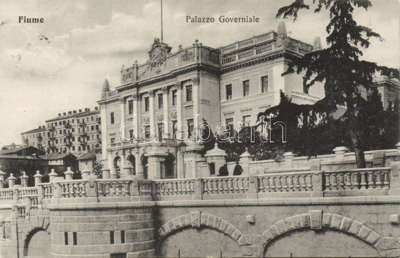 Fiume, palazzo governiale / Government palace