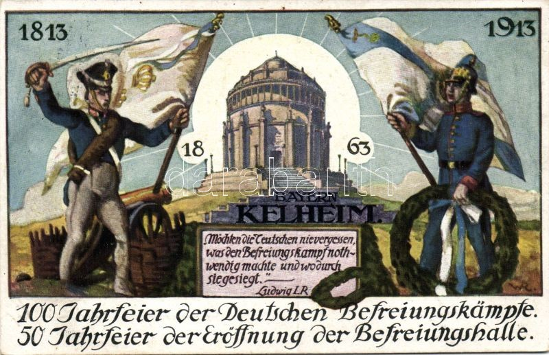 Kelheim, German liberation, anniversary