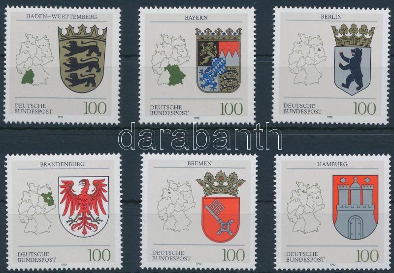 Coat of arms set, Címerek sor