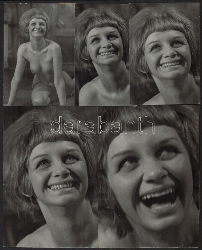 cca 1963 Tiszavölgyi József (1909-?) budapesti fotóriporter hagyatékából 5 db vintage fotó, pecséttel jelzett, összeragasztva, 30x24 cm
