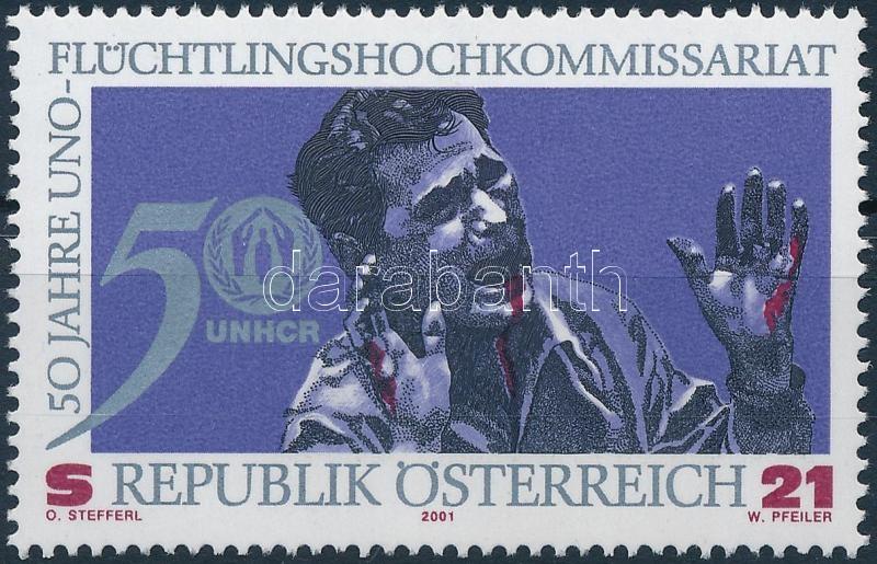 High Commissioner for Refugees of the United Nations stamp, Az Egyesült Nemzetek Menekültügyi Főbiztosa bélyeg