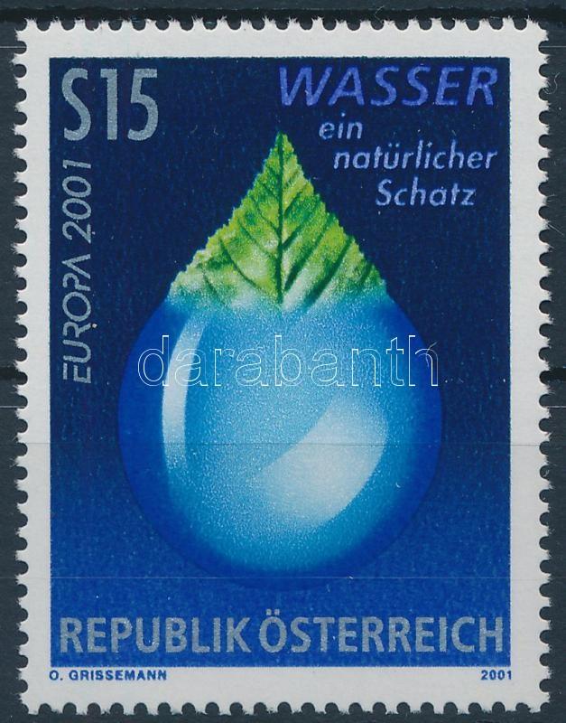 Europa CEPT Water stamp, Europa CEPT Víz bélyeg