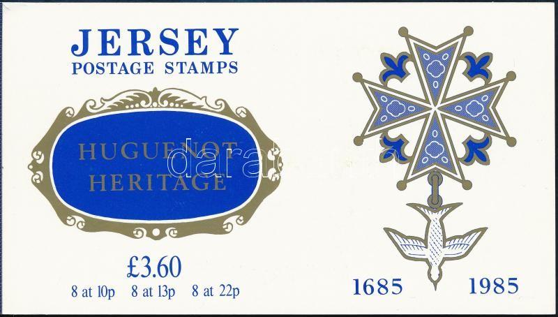 Huguenots stamp booklet, Hugenották bélyegfüzet
