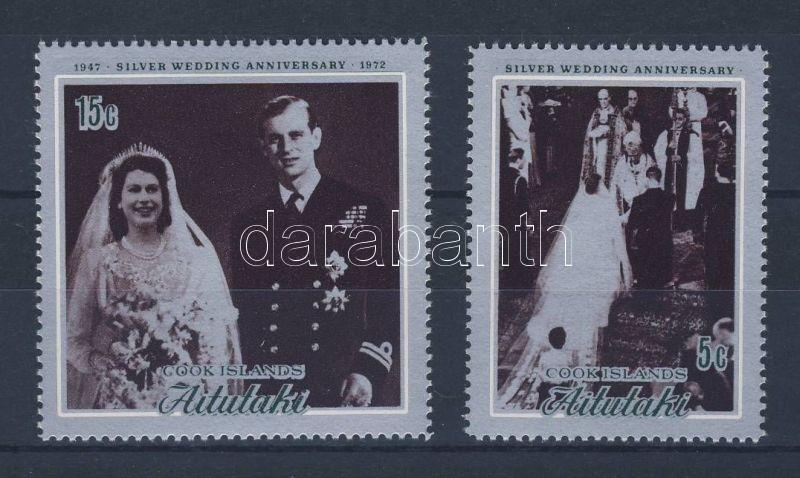 Silver wedding anniversary of the royal pair, A királyi pár ezüstlakodalma pár