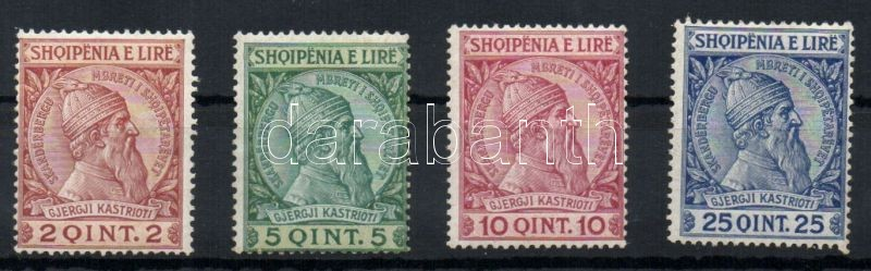 Definitive, Skanderbeg set, Forgalmi, Skanderbeg sor