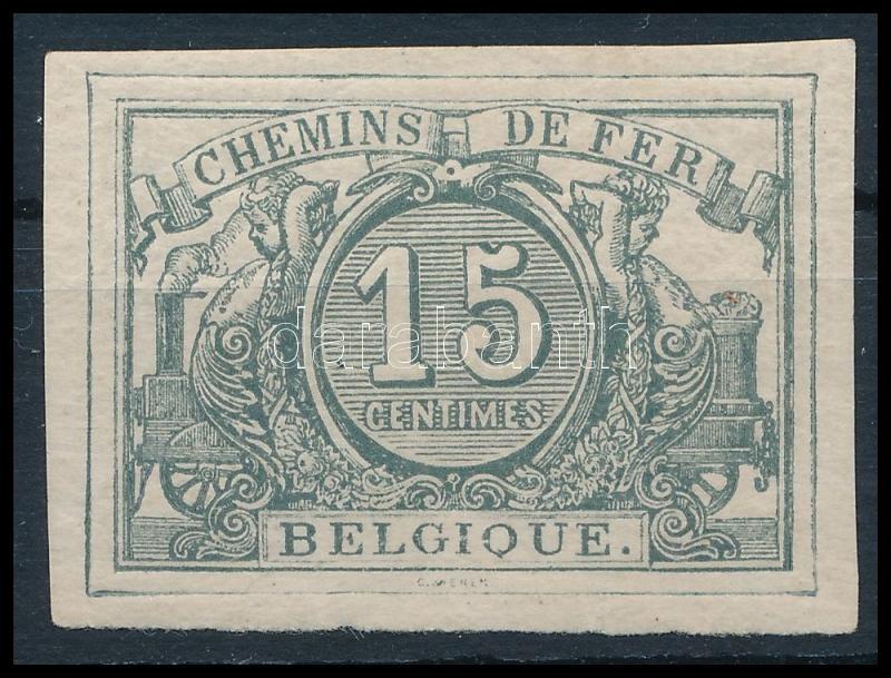 Railway parcel stamp, Vasúti vágott csomagbélyeg