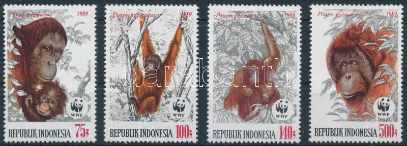 WWF Orangutans set, WWF Orangutánok sor