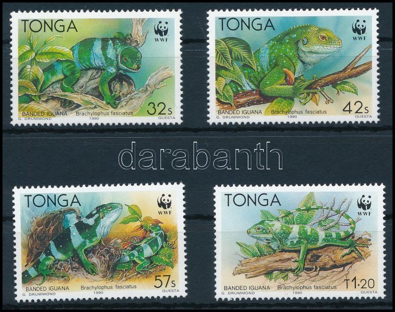 WWF Iguána sor, WWF Iguana set