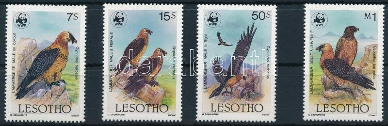 WWF Bearded Vulture set, WWF Saskeselyű sor