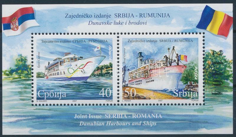 Ships block, Hajók blokk