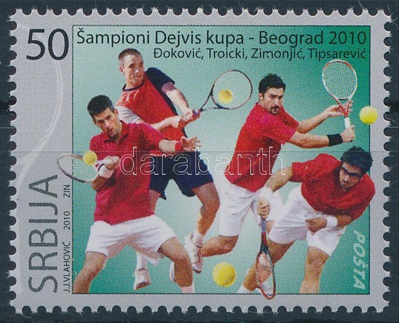 Tennis stamp, Tenisz bélyeg