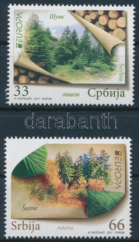 Europa CEPT Forest set, Europa CEPT Erdők sor