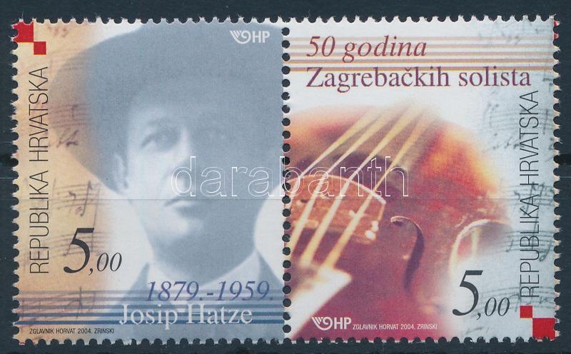 Croatian music pair, Horvát zene pár