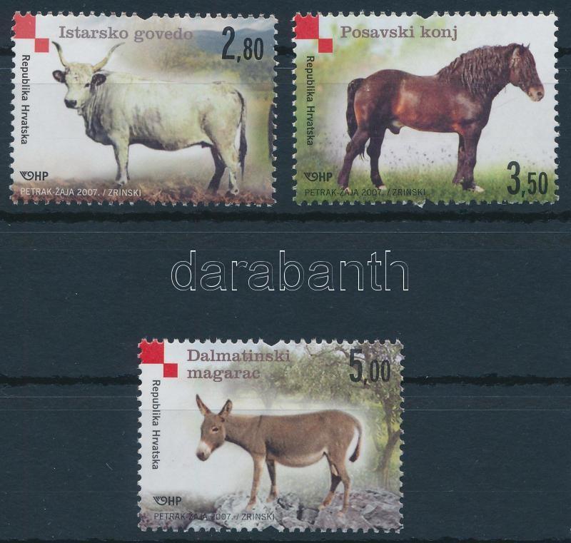 Domestic animal breeds set, Háziállatfajták sor