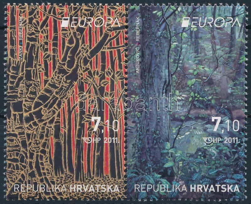 Europa CEPT Erdő pár, Europa CEPT Forest pair