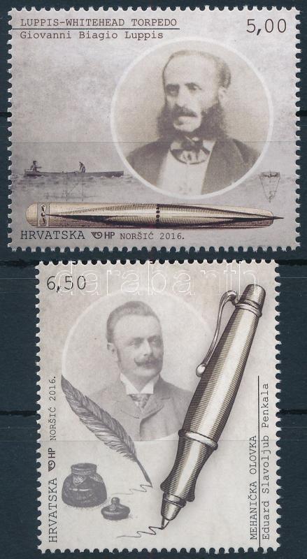 Croatian inventions set, Horvát találmányok sor