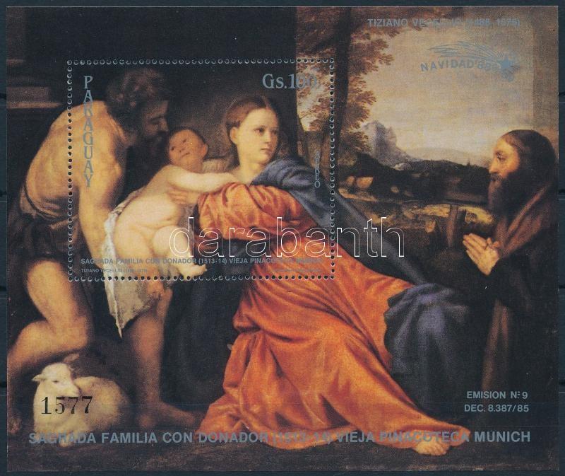 Christmas, Tizian block, Karácsony, Tiziano blokk
