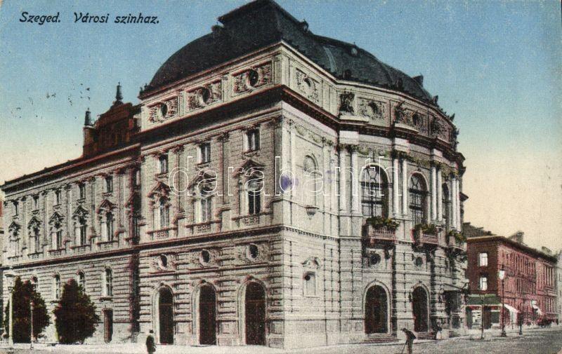Szeged, Városi Színház, Grünwald Ignác kiadása