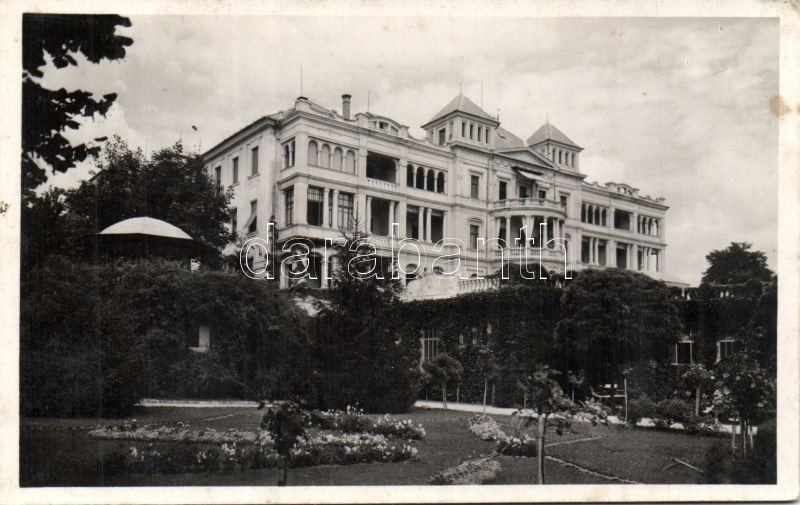 Balatonfüred Erzsébet Szanatorium