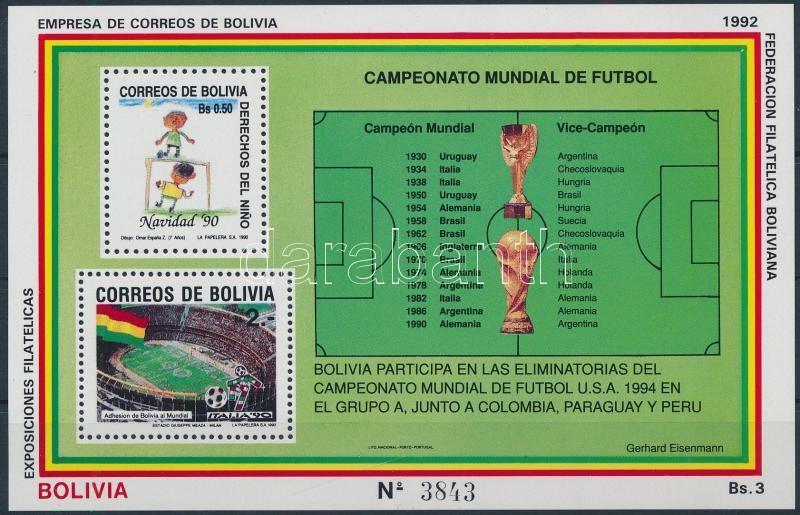 Football World Cup 1994 block, Labdarúgó-világkupa 1994 blokk